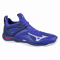 Chaussures de handball homme WAVE MIRAGE 3 bleu/blanc