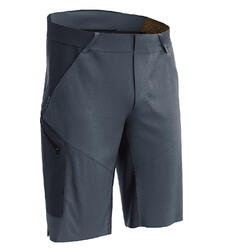 Long mountain hiking shorts - MH500 - Men