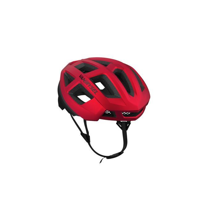 自行車安全帽 - 紅色