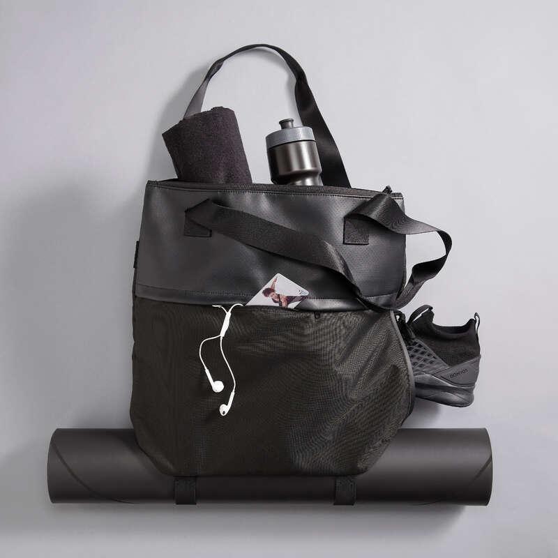 Cardio Taschen Fitness - Sporttasche Tote Bag 20L DOMYOS - Fitness Zubehör