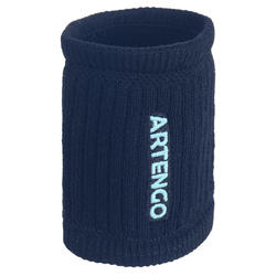 Tennis Wristbands TP 500 - Navy/Light Green