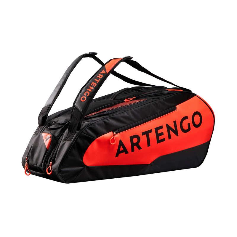 BORSE TENNIS Sport di racchetta - Borsa tennis 930L nero-arancio ARTENGO - PADEL
