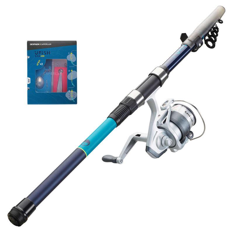 ZAČÁTKY S MOŘSKÝM RYBOLOVEM Rybolov - SOUPRAVA UFISH SEA 240 ETU CAPERLAN - Rybářské vybavení