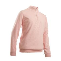 Pull de golf coupe-vent enfant MW500 rose