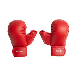 Karate-Handschuhe 900 rot