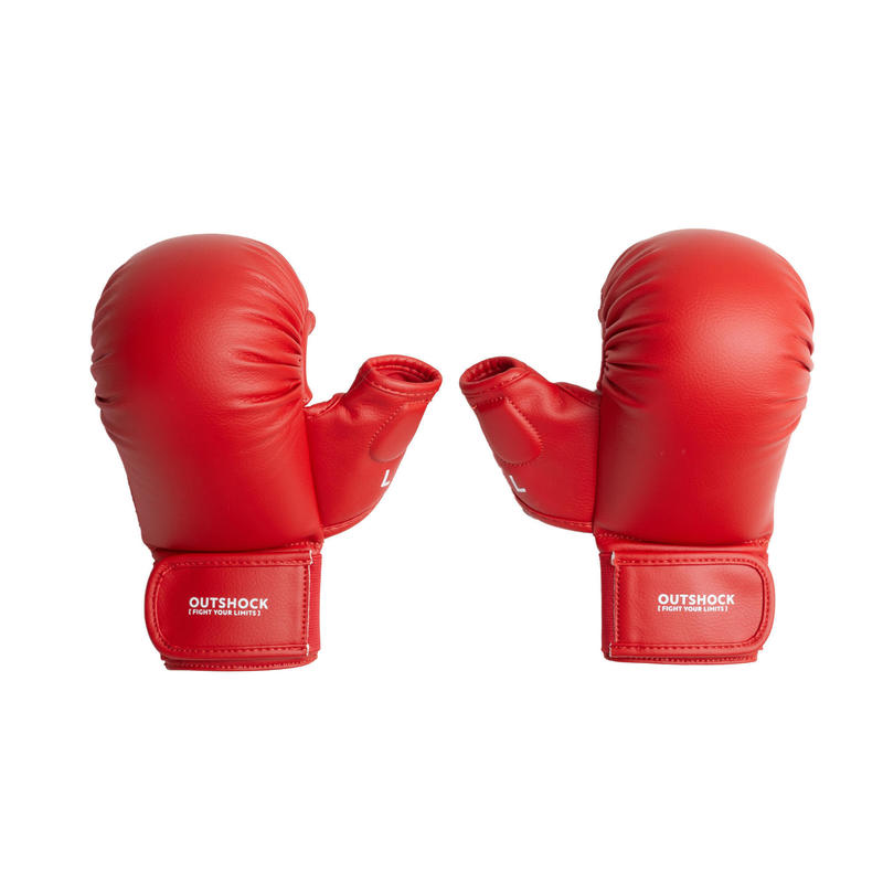Karate Mitts 900 - Red