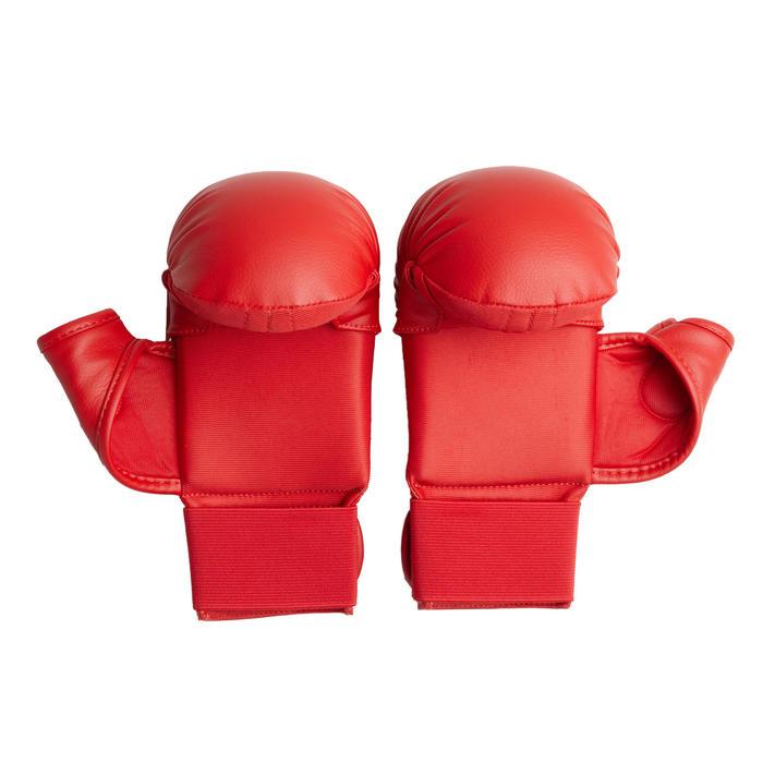 Karatehandschoenen 900 rood
