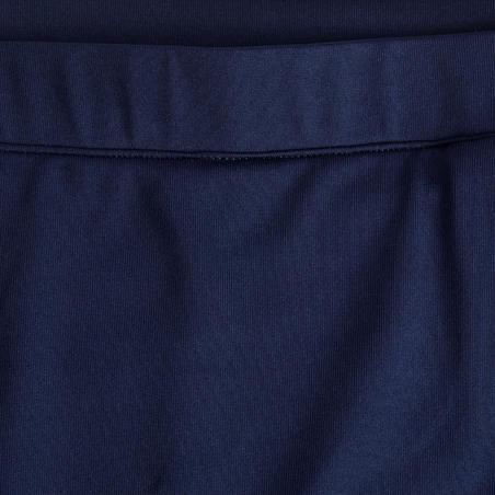 Jupe-short de golf fille MW500 bleu marine
