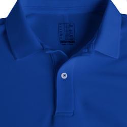 Kids' Golf Mild Weather Polo Shirt - Indigo Blue