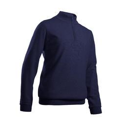 Pull de golf coupe-vent enfant MW500 bleu marine