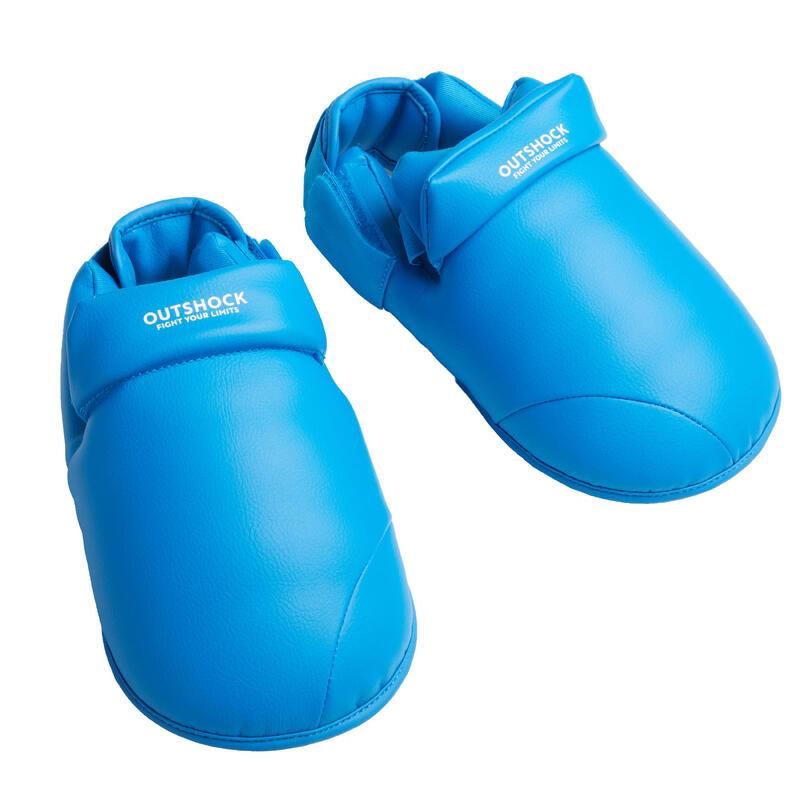 Karate voetbeschermers blauw