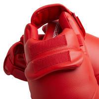 Karate Shin & Foot Guard - Red Karate Shin & Foot Guard - Blue