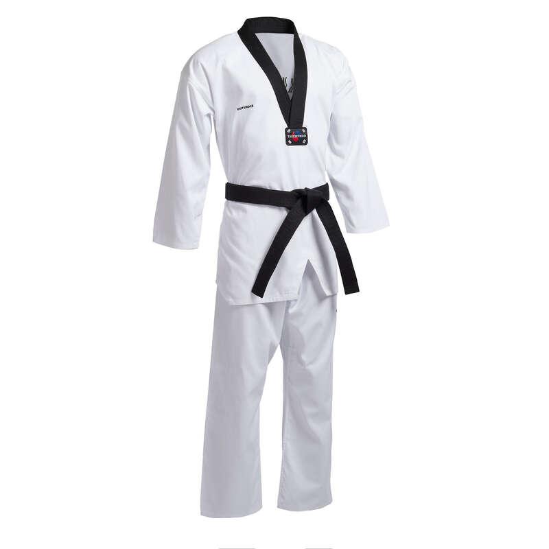 Taekwondo BOJOVÉ UMENIA - DOBOK 900 S ČIERNYM GOLIEROM OUTSHOCK - BOJOVÉ UMENIA