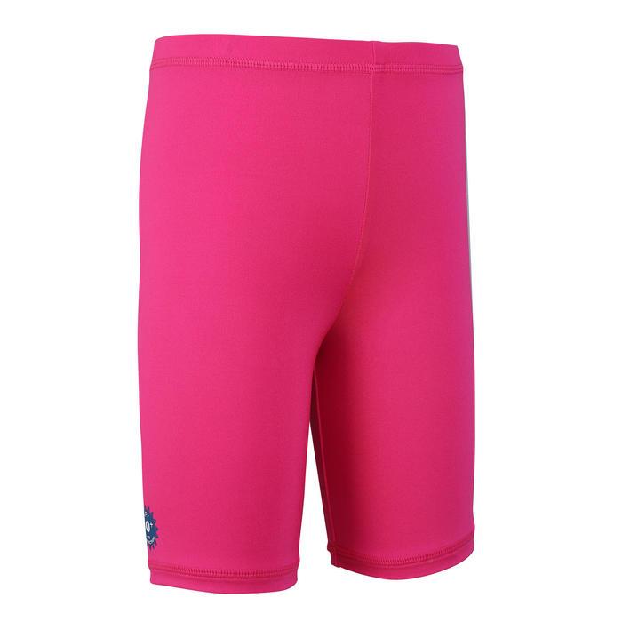 嬰幼兒抗紫外線短版泳褲 - 粉紅色