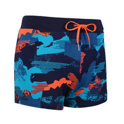 MEN'S SWIMMING BOXERS 100 PEP - CAMO RED