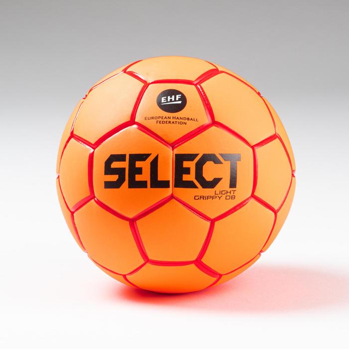 Ballon de handball enfant LIGHT GRIPPY T0 orange