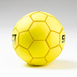 Ballon de handball enfant GRIPPY LIGHT T1 jaune