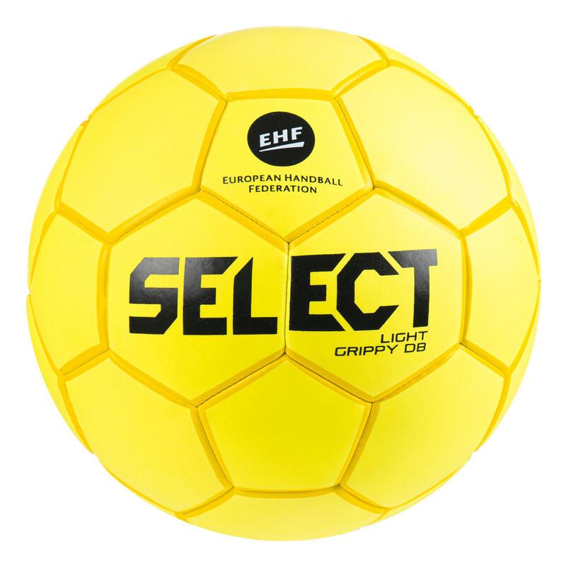 Ballon de handball enfant GRIPPY LIGHT T1 jaune