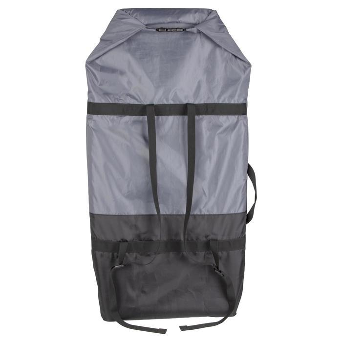 Compacte boardbag voor vervoer van bodyboard 100 regelbaar