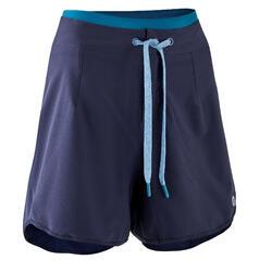 MTB short dames ST 500 blauw