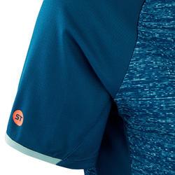 MTB-shirt met korte mouwen voor dames ST 100 turkoois