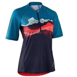 MTB shirt dames ST 500 blauw