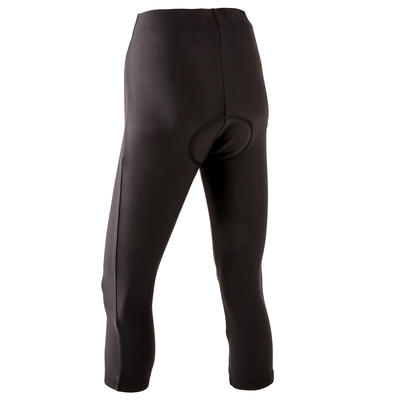 100 Womens 3/4 Padded Cycling Tights