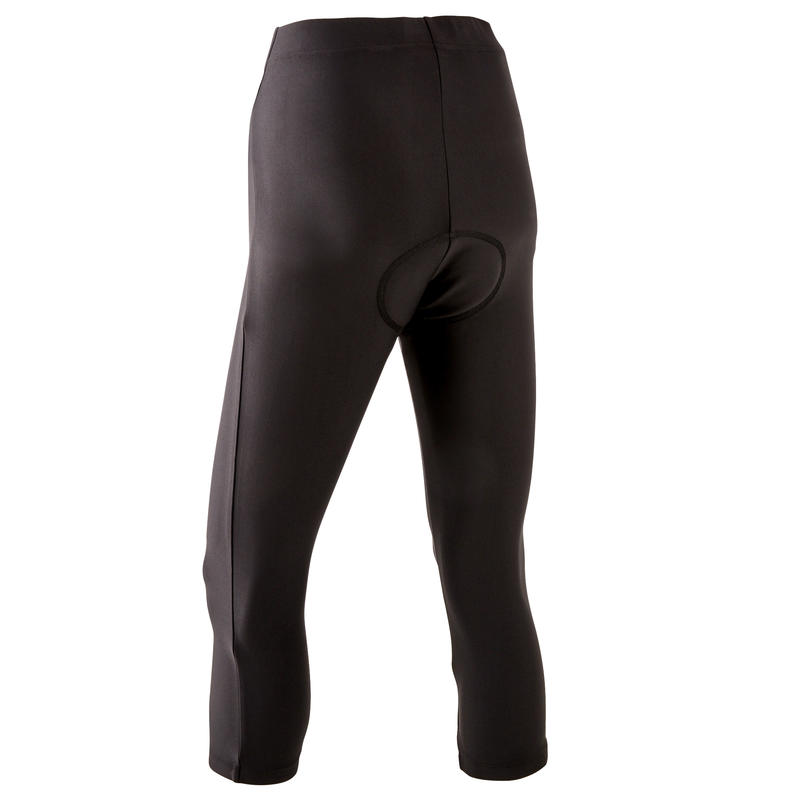 Women's Cycling Tights RC100 - Black