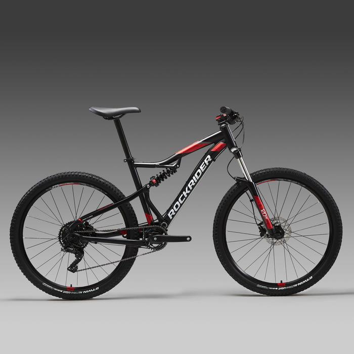 "ST 530 Mountain Bike, Black/Red - 27.5"""