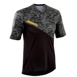 MTB shirt All Mountain zwart/groen
