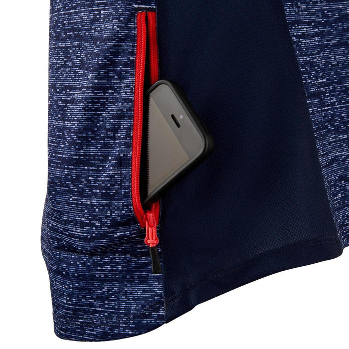 MTB shirt met korte mouwen dames ST 100 marineblauw