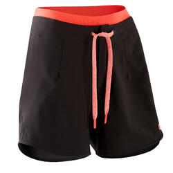 Pantaloncini mtb donna ST 500 neri