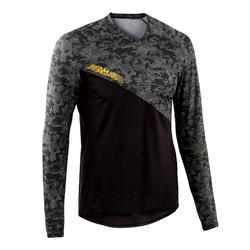 MTB shirt All Mountain lange mouwen zwart