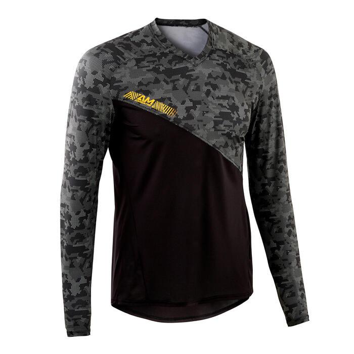 MTB shirt All Mountain lange mouwen zwart