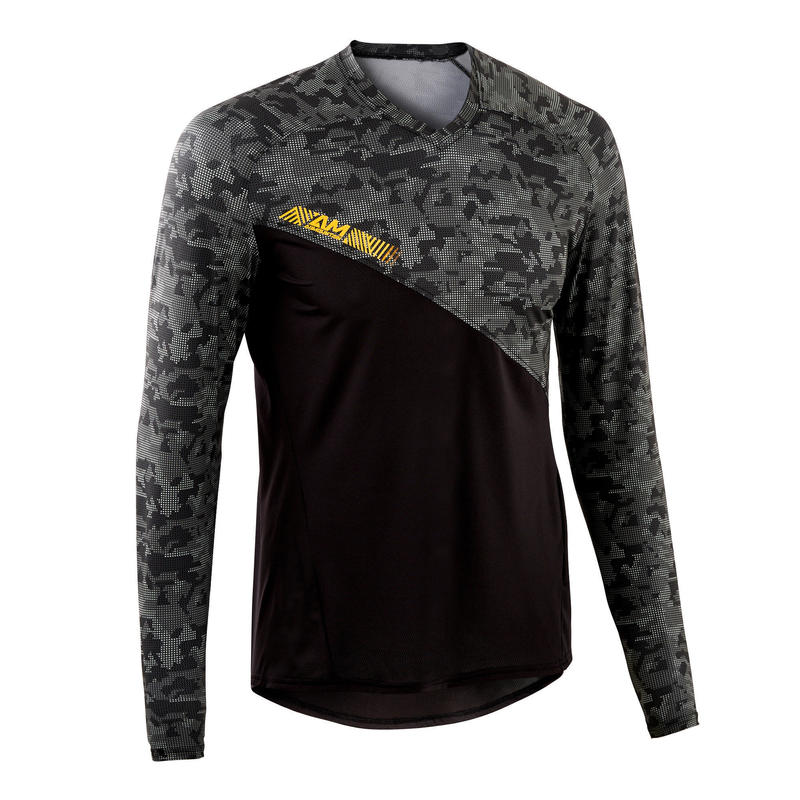 AM Long Sleeve Mountain Bike Jersey - Black