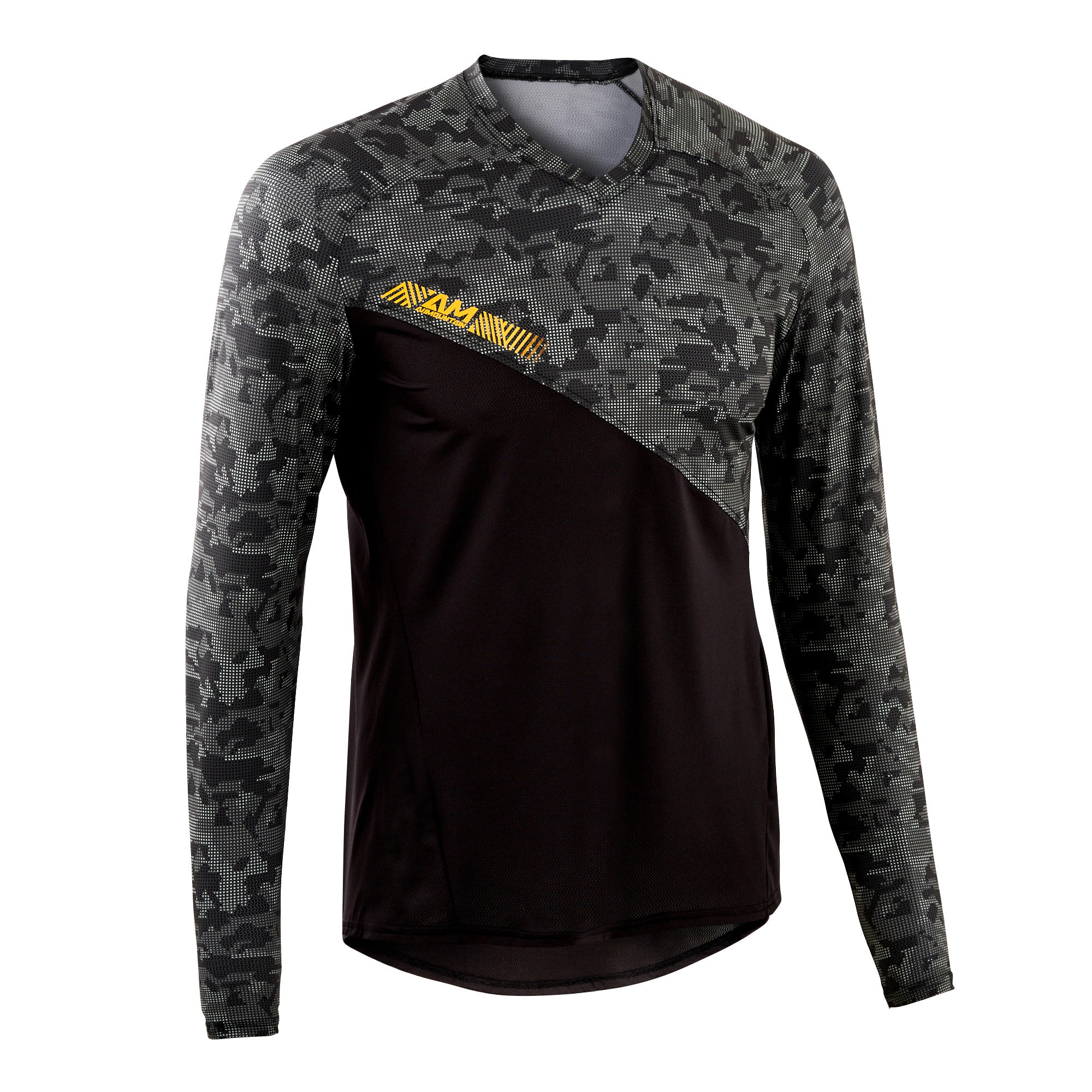 Bluză MTB ALL MOUNTAIN Negru