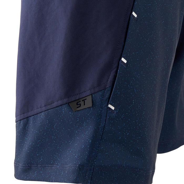 MTB-short voor heren ST 500 marineblauw
