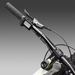 "ELEKTRISCHE MOUNTAINBIKE E-ST 520 GRIJS/GEEL 27.5"""