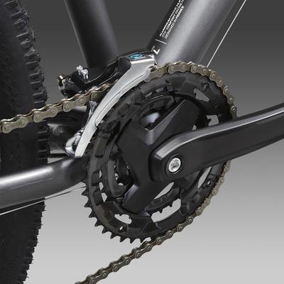 """Гірський велосипед ST 520, 27,5"""" - Сірий/Жовтий"""