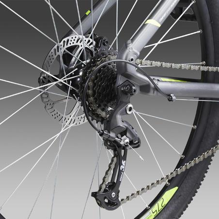 """Kalnu velosipēds """"ST 520 V2"""", 27,5"""", pelēks/dzeltens"""