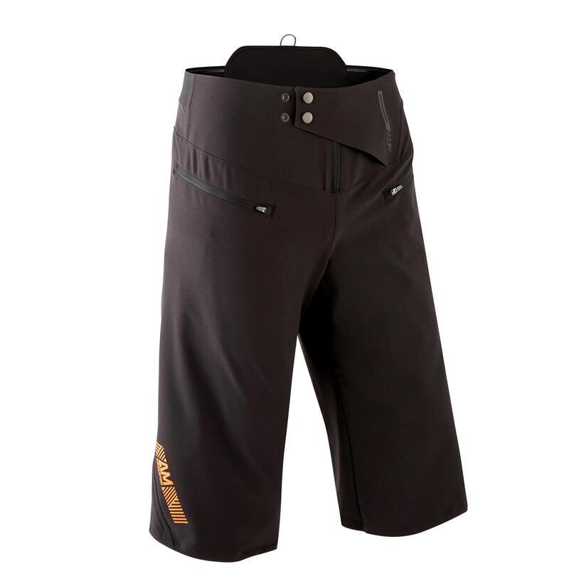 MTB-short voor All Mountain AM 500 zwart