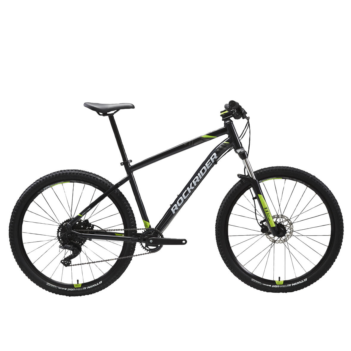 ROCKRIDER ST 530 MOUNTAIN BIKE - BLACK