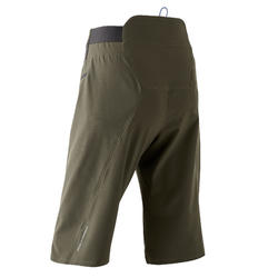 MTB-short voor All Mountain AM 500 kaki