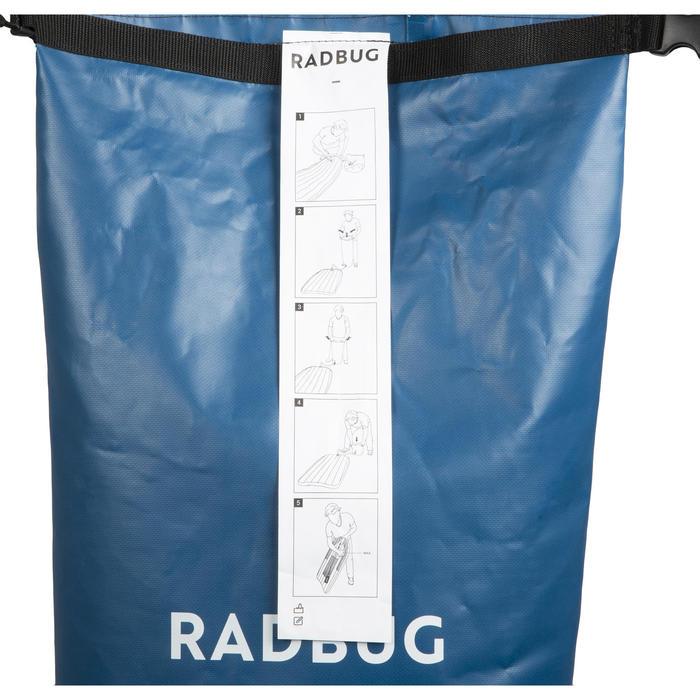 Bodyboard air 100 opblaasbaar blauw innovatie