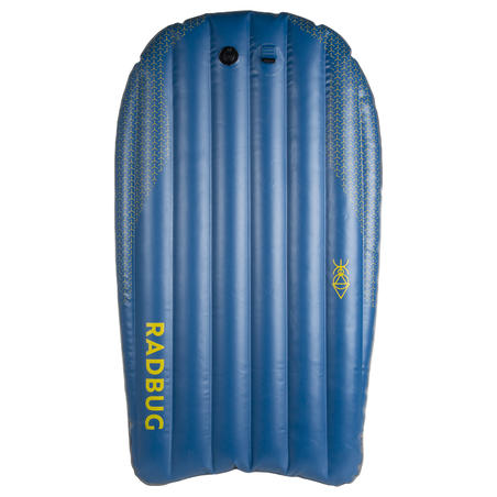 Inflatable 100 innovation bodyboard - Blue