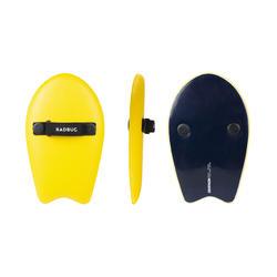 Prancha Handplane de Bodysurf 100 Amarelo