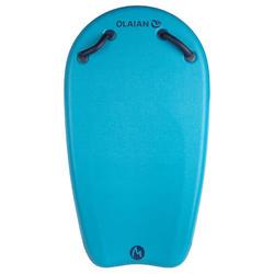 Bodyboard BODYATU Junior M bleu avec poignées et leash