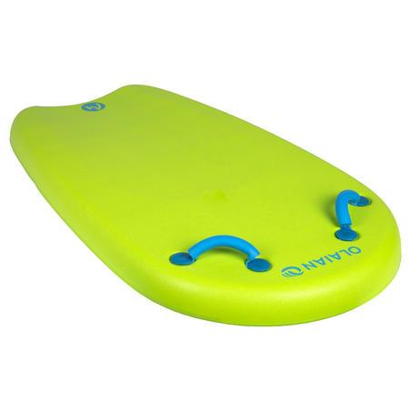 Bodyatu Kids' Bodyboard M with Handles and Leash - Green