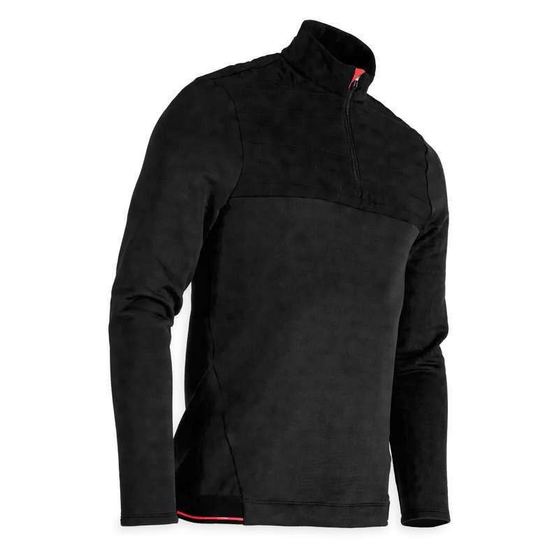 MENS COLD WEATHER GOLF CLOTHING Golf - CW FLEECE SWEATSHIRT - BLACK INESIS - Golf Clothing