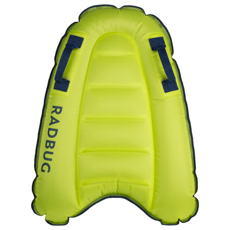 Bodyboard enfant DISCOVERY gonflable vert 4 ans-8 ans (15-25Kg)